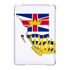Flag Map Of British Columbia Apple Ipad Mini Hardshell Case (compatible With Smart Cover)