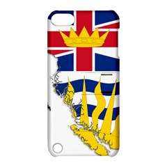 Flag Map Of British Columbia Apple Ipod Touch 5 Hardshell Case With Stand