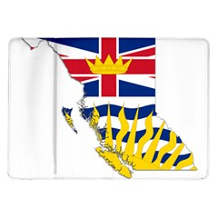 Flag Map Of British Columbia Samsung Galaxy Tab 10 1  P7500 Flip Case