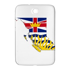 Flag Map Of British Columbia Samsung Galaxy Note 8 0 N5100 Hardshell Case