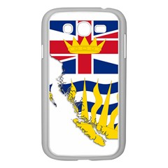 Flag Map Of British Columbia Samsung Galaxy Grand Duos I9082 Case (white)