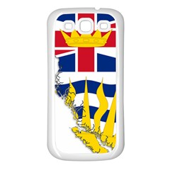 Flag Map Of British Columbia Samsung Galaxy S3 Back Case (white)