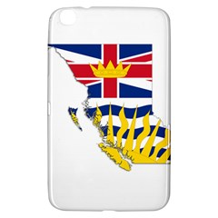 Flag Map Of British Columbia Samsung Galaxy Tab 3 (8 ) T3100 Hardshell Case