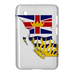 Flag Map Of British Columbia Samsung Galaxy Tab 2 (7 ) P3100 Hardshell Case