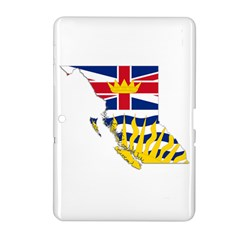 Flag Map Of British Columbia Samsung Galaxy Tab 2 (10 1 ) P5100 Hardshell Case