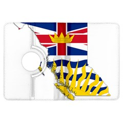 Flag Map Of British Columbia Kindle Fire Hdx Flip 360 Case