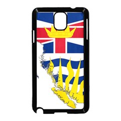 Flag Map Of British Columbia Samsung Galaxy Note 3 Neo Hardshell Case (black)