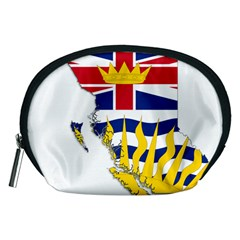 Flag Map Of British Columbia Accessory Pouches (medium)