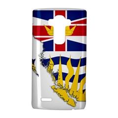 Flag Map Of British Columbia Lg G4 Hardshell Case