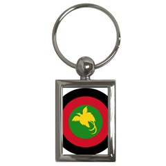 Roundel Of Papua New Guinea Air Operations Element Key Chains (rectangle)
