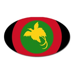 Roundel Of Papua New Guinea Air Operations Element Oval Magnet