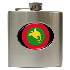 Roundel Of Papua New Guinea Air Operations Element Hip Flask (6 Oz)
