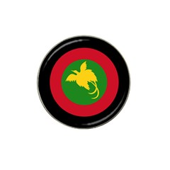 Roundel Of Papua New Guinea Air Operations Element Hat Clip Ball Marker (10 Pack)