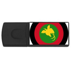Roundel Of Papua New Guinea Air Operations Element Usb Flash Drive Rectangular (4 Gb)