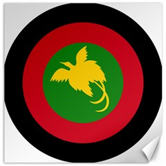 Roundel Of Papua New Guinea Air Operations Element Canvas 12  X 12