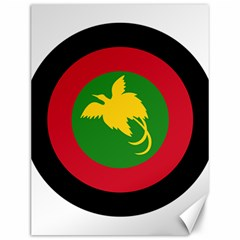 Roundel Of Papua New Guinea Air Operations Element Canvas 12  X 16