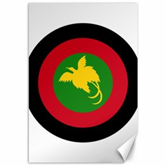 Roundel Of Papua New Guinea Air Operations Element Canvas 12  X 18