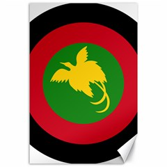 Roundel Of Papua New Guinea Air Operations Element Canvas 24  X 36