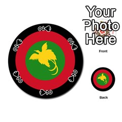 Roundel Of Papua New Guinea Air Operations Element Playing Cards 54 (round)