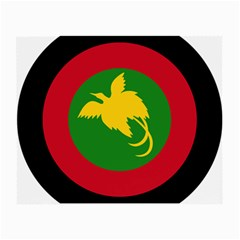 Roundel Of Papua New Guinea Air Operations Element Small Glasses Cloth (2 Side)