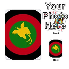 Roundel Of Papua New Guinea Air Operations Element Multi Purpose Cards (rectangle)