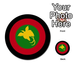 Roundel Of Papua New Guinea Air Operations Element Multi Purpose Cards (round)
