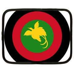 Roundel Of Papua New Guinea Air Operations Element Netbook Case (large)