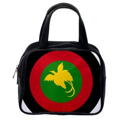 Roundel Of Papua New Guinea Air Operations Element Classic Handbags (one Side)