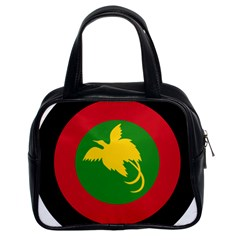 Roundel Of Papua New Guinea Air Operations Element Classic Handbags (2 Sides)
