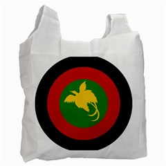 Roundel Of Papua New Guinea Air Operations Element Recycle Bag (two Side)