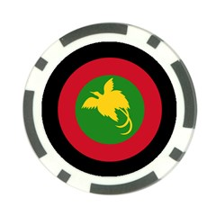 Roundel Of Papua New Guinea Air Operations Element Poker Chip Card Guards (10 Pack)