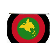 Roundel Of Papua New Guinea Air Operations Element Cosmetic Bag (large)