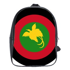 Roundel Of Papua New Guinea Air Operations Element School Bags(large)
