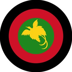 Roundel Of Papua New Guinea Air Operations Element Magic Photo Cubes