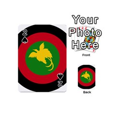 Roundel Of Papua New Guinea Air Operations Element Playing Cards 54 (mini)