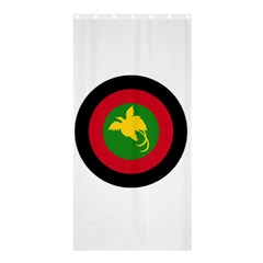 Roundel Of Papua New Guinea Air Operations Element Shower Curtain 36  X 72  (stall)