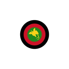 Roundel Of Papua New Guinea Air Operations Element Shower Curtain 48  X 72  (small)