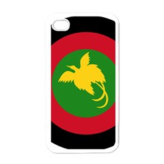 Roundel Of Papua New Guinea Air Operations Element Apple Iphone 4 Case (white)