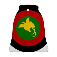 Roundel Of Papua New Guinea Air Operations Element Bell Ornament (2 Sides)
