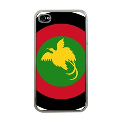 Roundel Of Papua New Guinea Air Operations Element Apple Iphone 4 Case (clear)