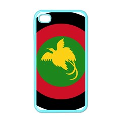 Roundel Of Papua New Guinea Air Operations Element Apple Iphone 4 Case (color)