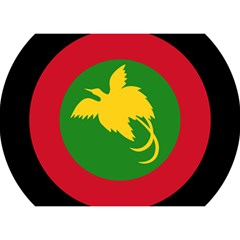 Roundel Of Papua New Guinea Air Operations Element Birthday Cake 3d Greeting Card (7x5)