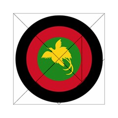 Roundel Of Papua New Guinea Air Operations Element Acrylic Tangram Puzzle (6  X 6 )