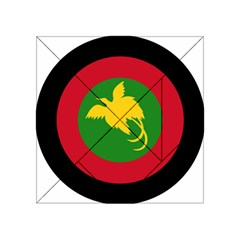 Roundel Of Papua New Guinea Air Operations Element Acrylic Tangram Puzzle (4  X 4 )