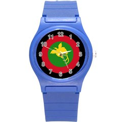Roundel Of Papua New Guinea Air Operations Element Round Plastic Sport Watch (s)