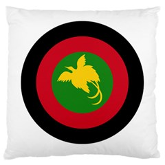 Roundel Of Papua New Guinea Air Operations Element Large Cushion Case (two Sides)