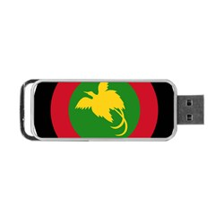 Roundel Of Papua New Guinea Air Operations Element Portable Usb Flash (two Sides)