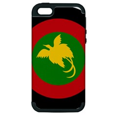 Roundel Of Papua New Guinea Air Operations Element Apple Iphone 5 Hardshell Case (pc+silicone)