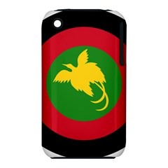 Roundel Of Papua New Guinea Air Operations Element Apple Iphone 3g/3gs Hardshell Case (pc+silicone)