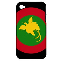 Roundel Of Papua New Guinea Air Operations Element Apple Iphone 4/4s Hardshell Case (pc+silicone)